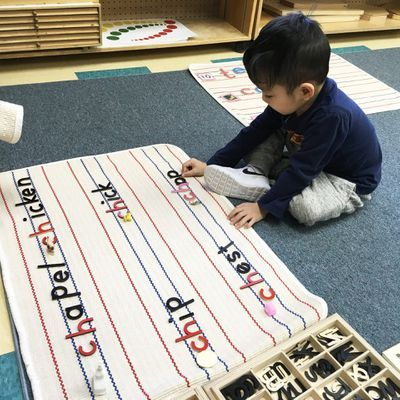 Language and Mathematics are cores subject in Montessori programs