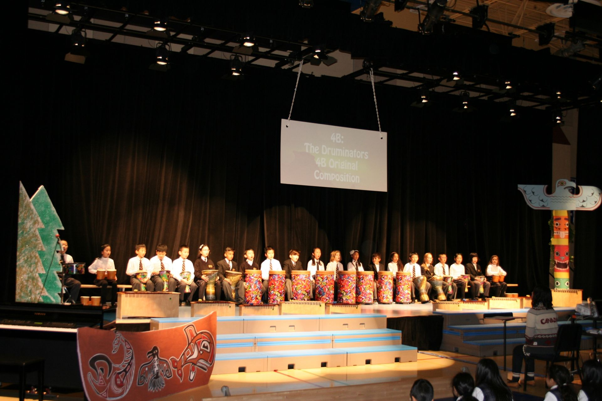 In House Theatre During Winter Concert