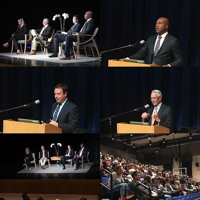 October 9, 2018 Panel with Dr. David Anderson, Dr. Derrick Gay and Dr. Michael Reichert