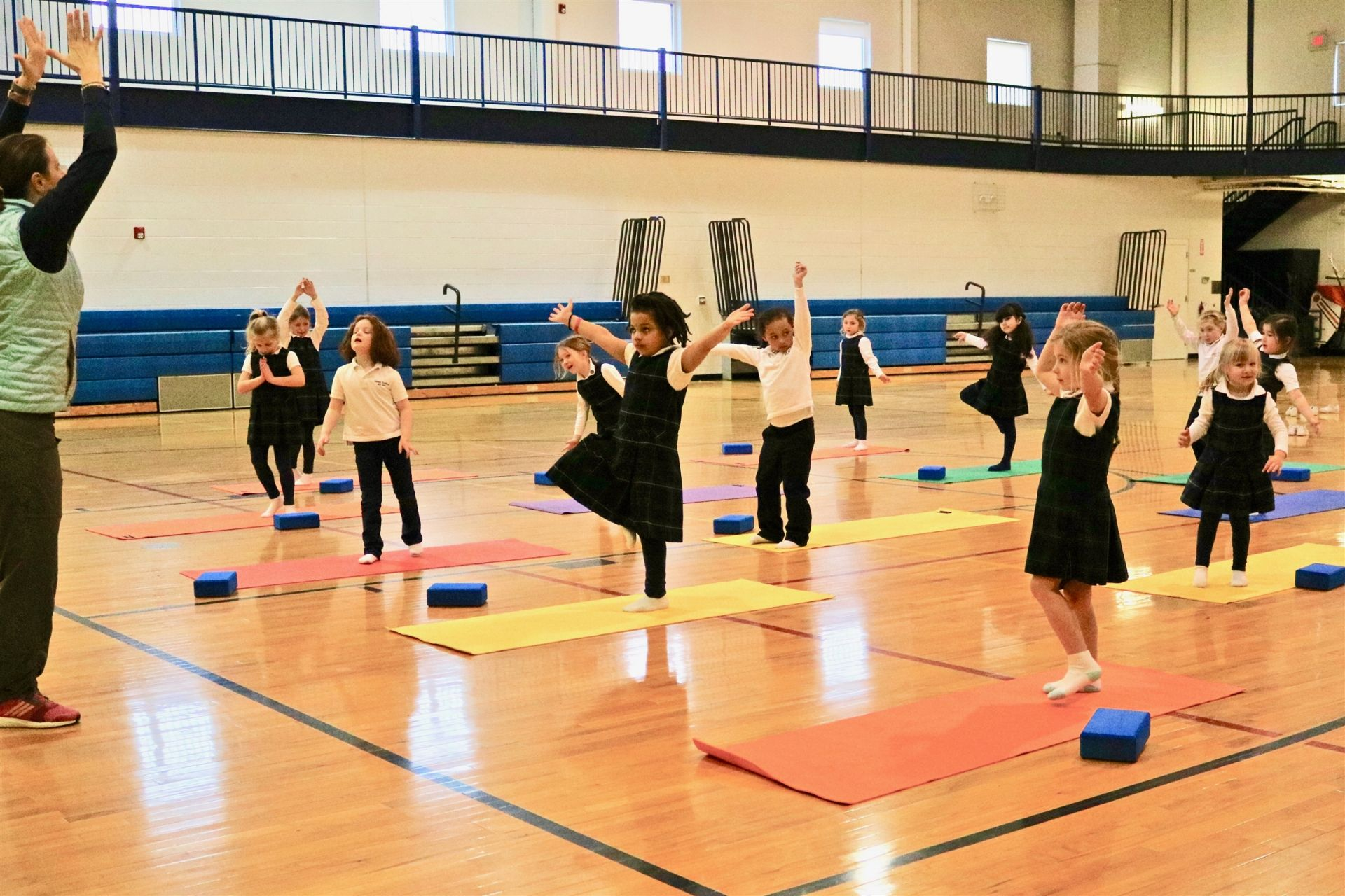 are offered daily; Physical Education curriculum includes swimming and ice skating.
