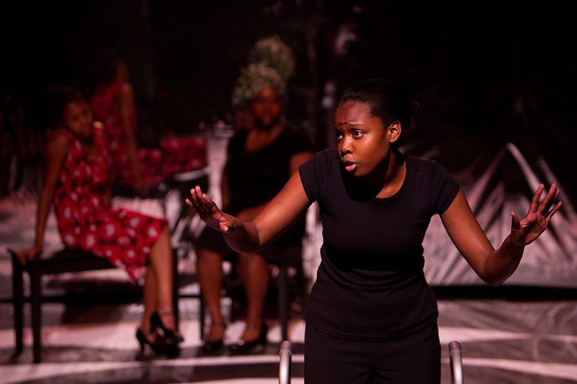 Down at the Bottom of a Deep Dark Pit (Upper School) | World Premiere, written by alumna Chisa Hutchinson '98