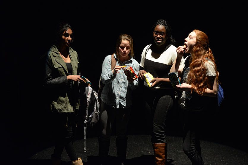 Disconnected (Upper School) | World Premiere, written for a senior independent study in playwriting by Denae Wilkins '14