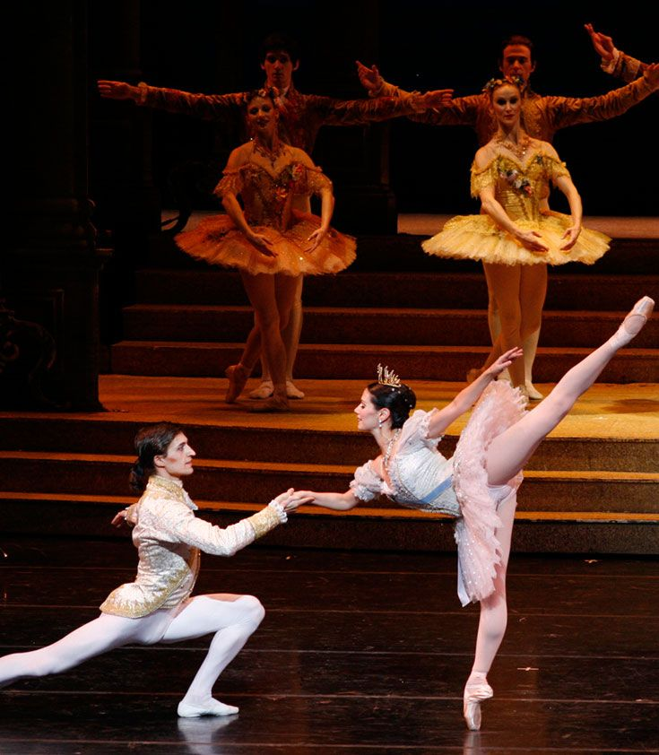 Suzanne Lopez Prisco '89 is a professional dancer with the Joffrey Ballet of Chicago. Here, she is photographed performing the title role in The Joffrey Ballet's production of Sir Frederick Ashton's