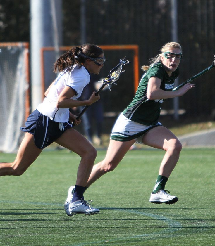 Christina Doherty '11 (Yale) and Frances Bird '11 (Dartmouth)