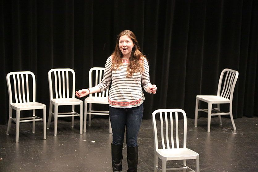 What's That, Mr. Jazz Hand? (Upper School) | Independent Study Project, One-woman show by Katie Moore-Gillon '15