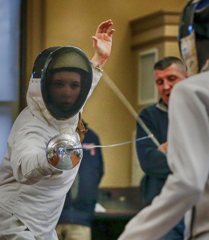 Upper School Fencing