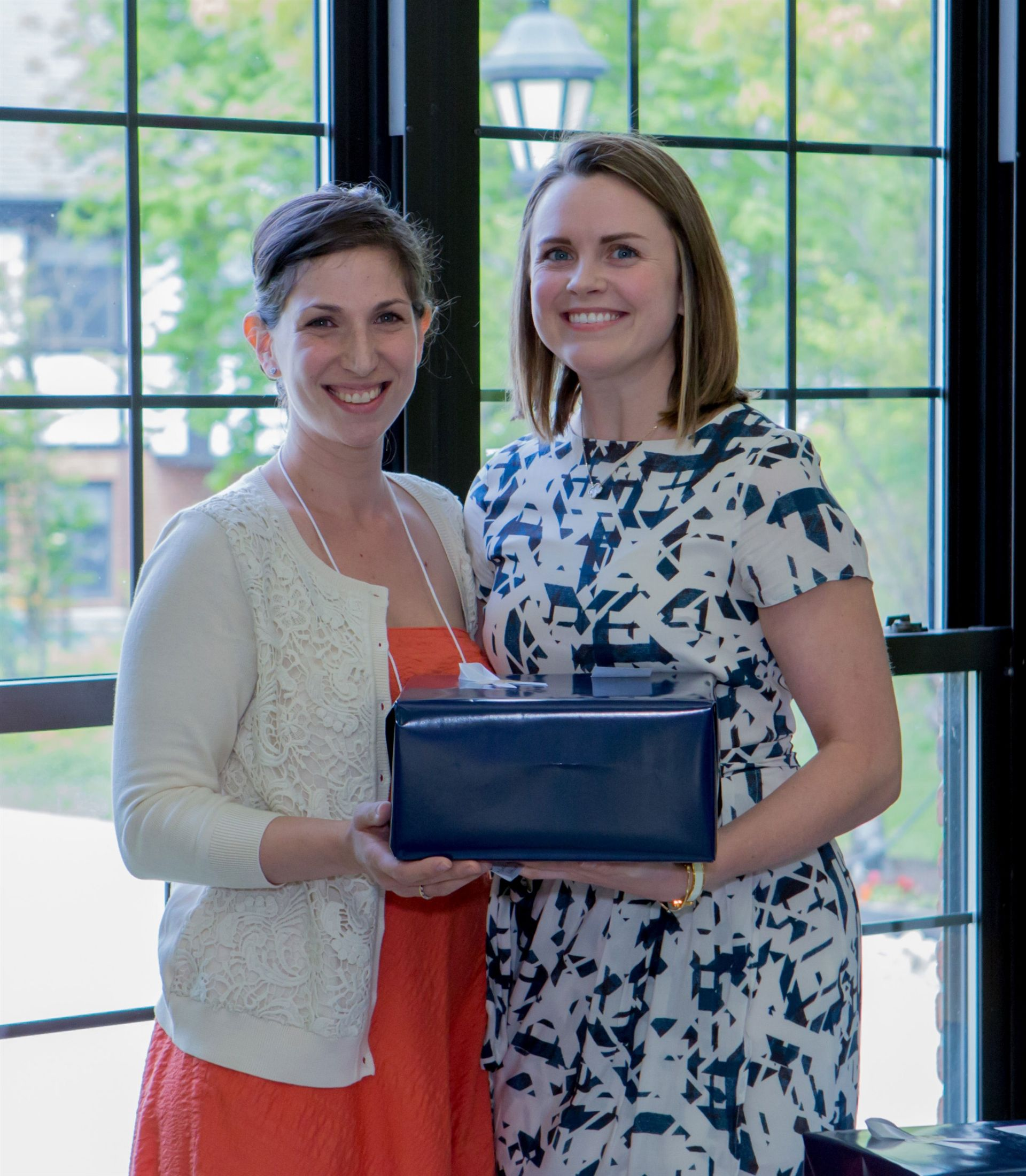 Lindsay A. (Mohr) Mader '03 P '30, President and Katherine E. (O'Donnell) Lynch '06, Vice President
