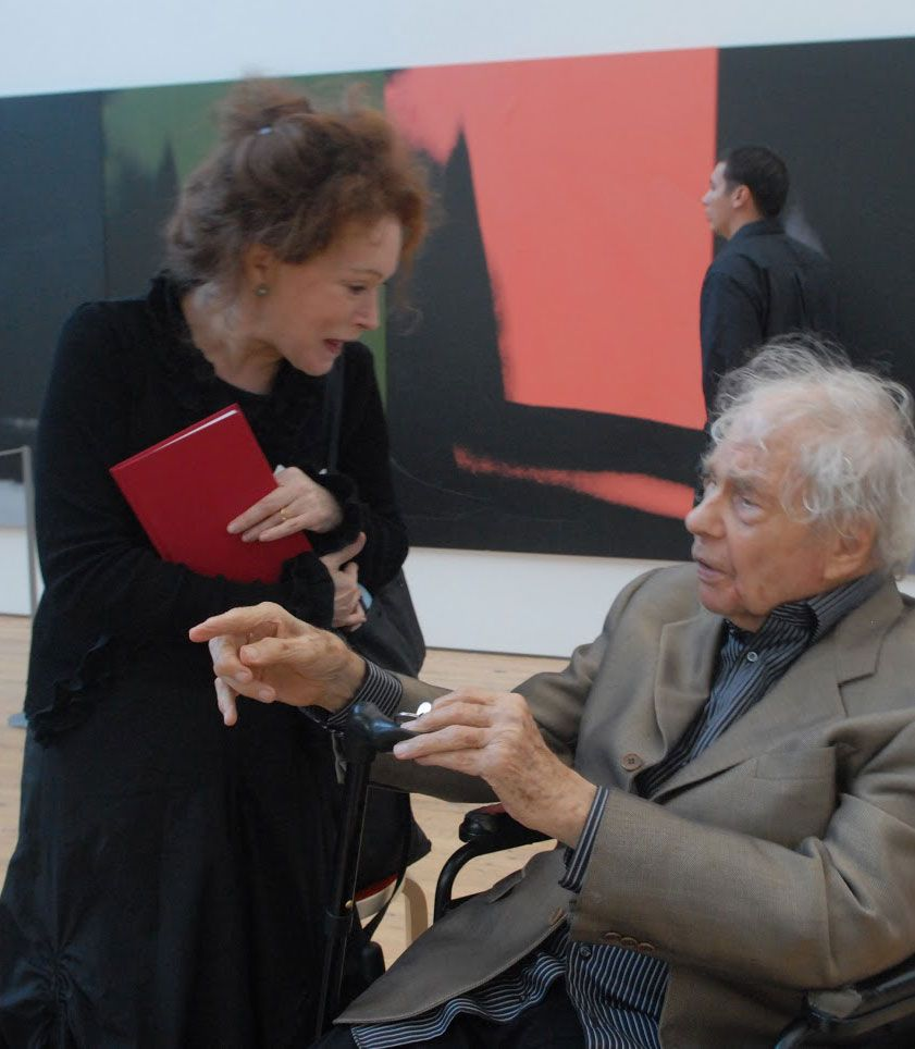 Nancy Dalva '68 with Merce Cunningham (in the Warhol Gallery at Dia:Beacon) Nancy Dalva is the Scholar in Residence of the Merce Cunningham Trust, the producer/writer of The Mondays with Merce Film Projects, and a writer on dance and related arts.
