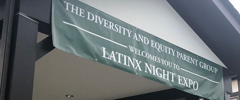 Diversity and Equity Parent Group holds kick-off Latinx Night Expo