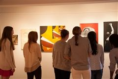 The Kent Place Gallery, located in the Center for Innovation, is open to the public and hosts a number of exhibitions by professional artists each year. These guest artists typically meet with students and teachers to discuss the work on display. Student exhibitions also take place throughout the year, giving girls the valuable experience of presenting their work before a larger audience.