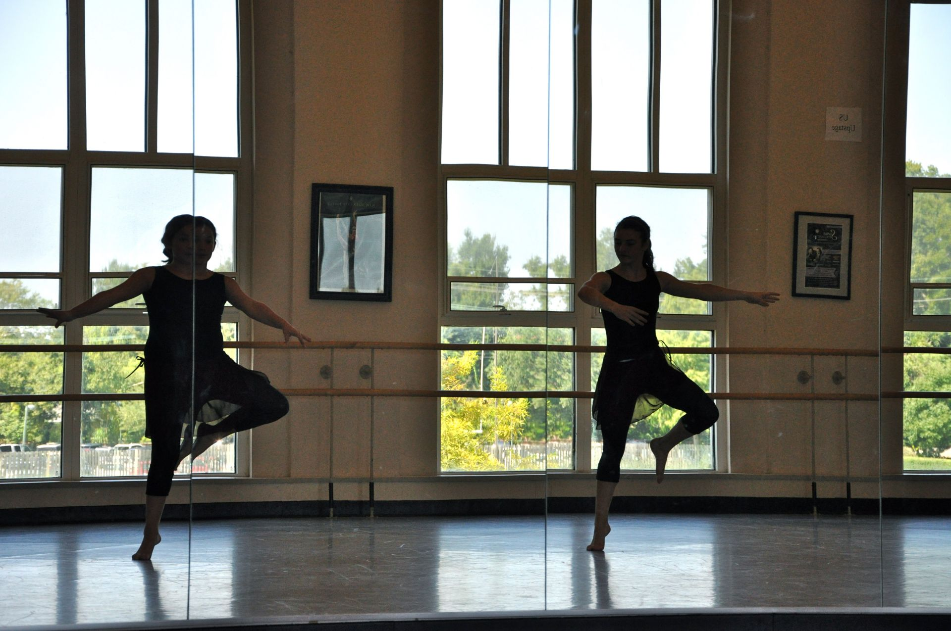 Dance studios for budding performers in the Reily Recreation Center