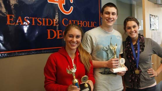 As a student at Eastside Catholic, you'll have the opportunity to pursue your passions through a wide variety of activities and clubs.