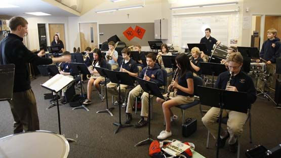 At EC, you can play in the string orchestra, the jazz ensemble or take courses in rock band and music production.