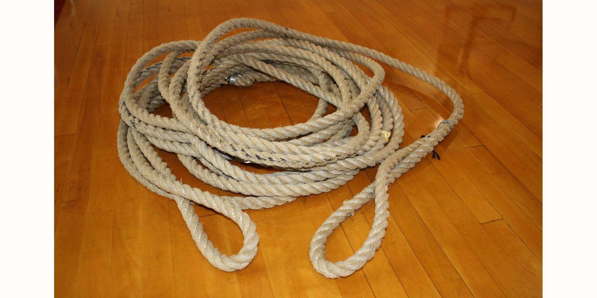 <center>Tug-of-War Rope, object undated, ca. 1975</center>