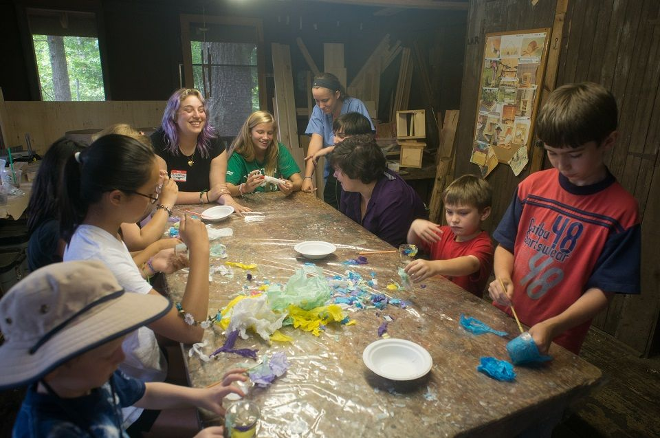 The Camp Nonesuch staff is comprised of a select group of talented individuals who promote and maintain a caring and supportive learning environment for children.  They are chosen for the diversified individual strengths that they bring to our program.  As a result, we are able to offer a wide range of engaging activities.  We maintain a camper to counselor ratio of 5:1.