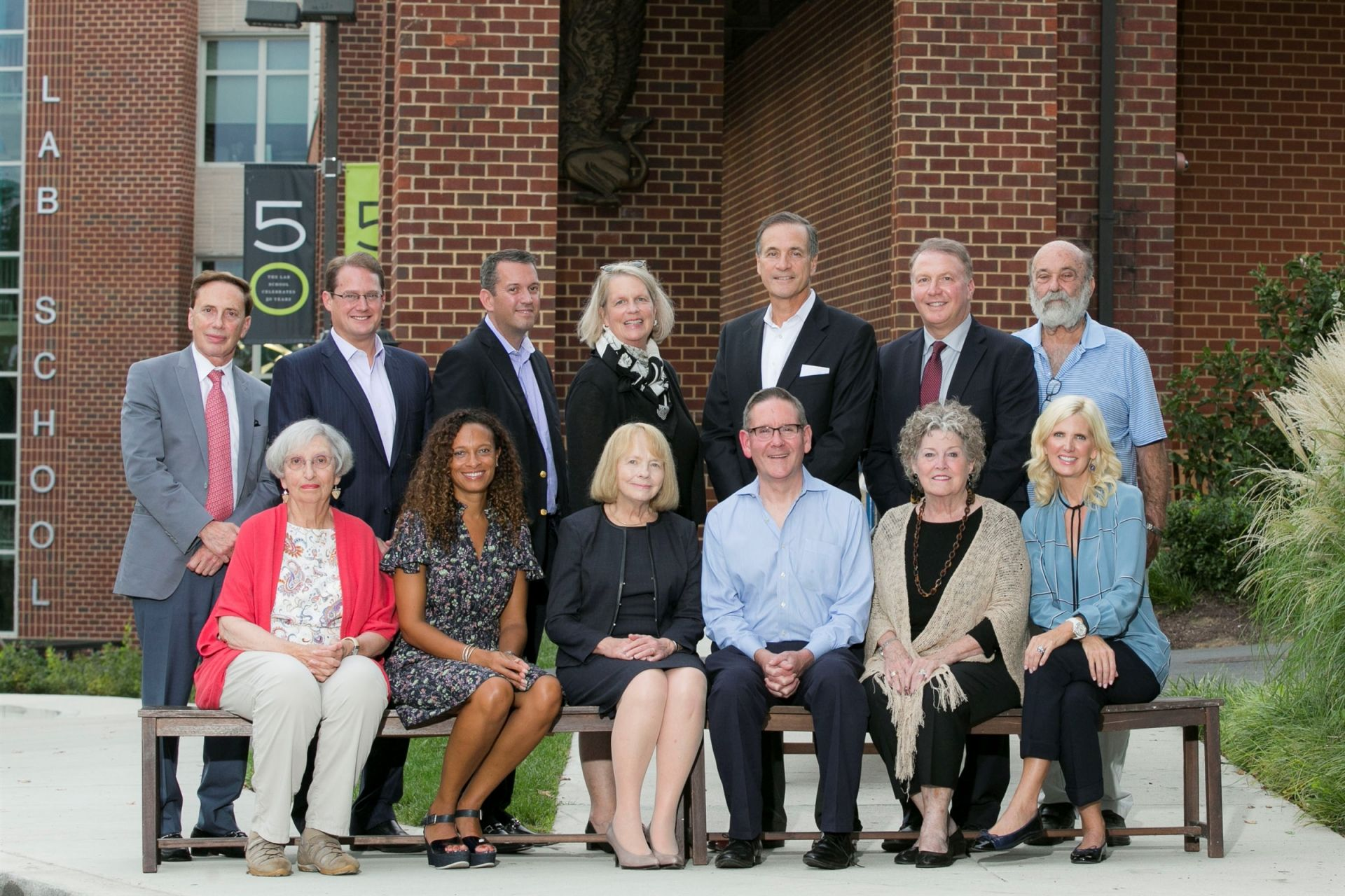 Top, left to right: John Jonas, Mac Bernstein, Mike Beach, Susan Hutton, Bill Tennis, Mike Tongour, Allyn Kilsheimer. Bottom, left to right: Martha Denckla, Lori Soto, Katherine Schantz, Hal Malchow, Mimi Dawson, Ashley Dabbiere  Missing: Patty Brown, Nancy Bubes, Davi Camalier, Art Coleman, Sheila Feinberg, Linda Fisher, Kate Fulton, Leah Gambal, Brian Thompson, Ryan Wade