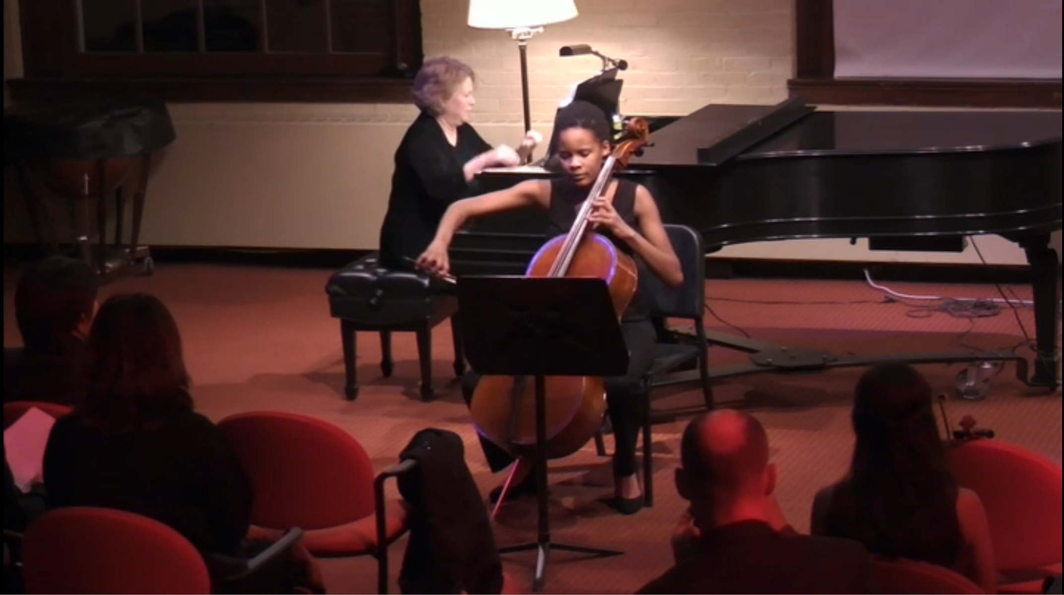 Cello Performance by Montanna '19