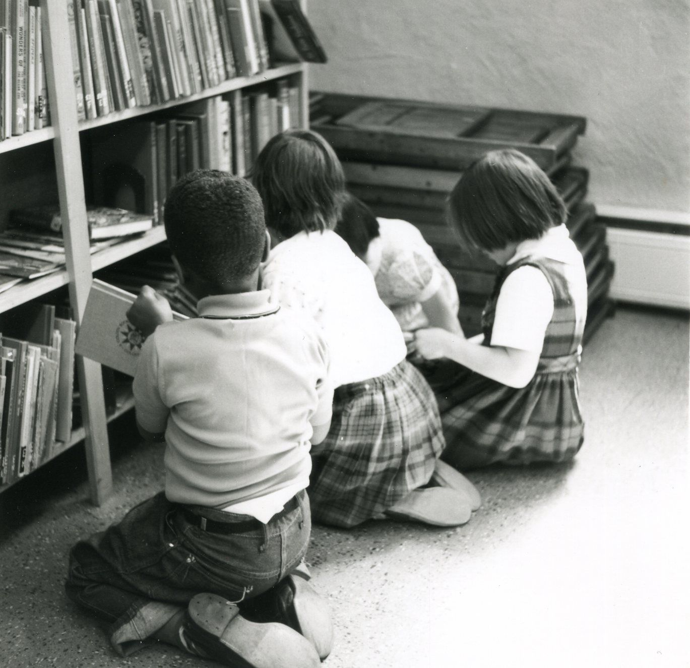 1960s Students in the Library