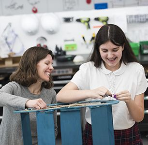 The School's strong commitment to offering excellent academic preparation in all subjects and opportunities to participate in extracurricular arts and athletics programs.