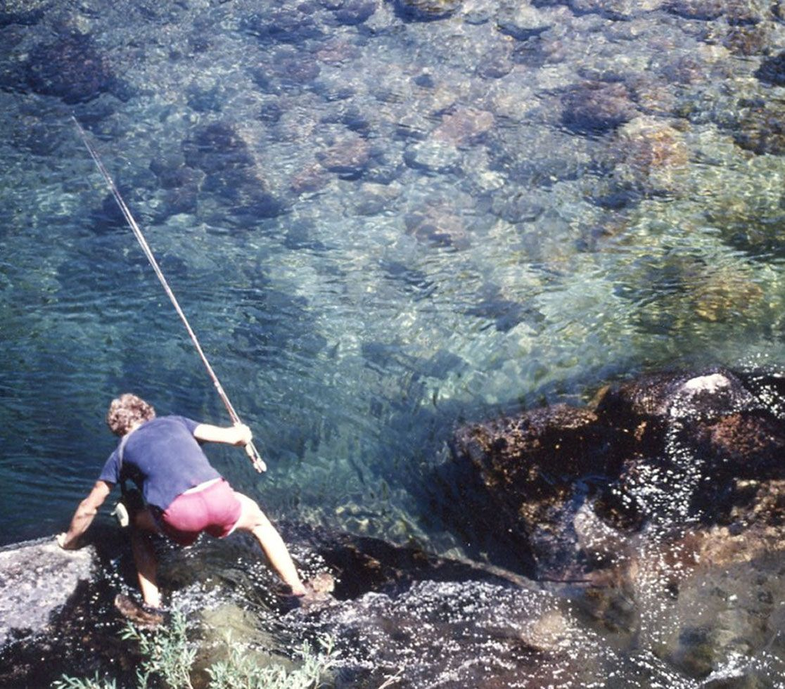 1979 Fly-fishing.