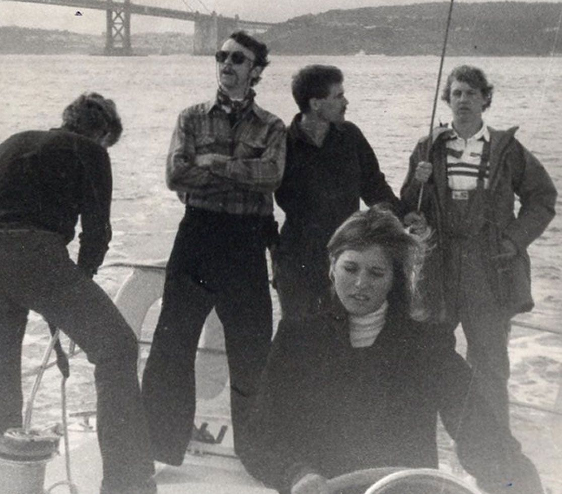A jaunty sailing trip from 1983.