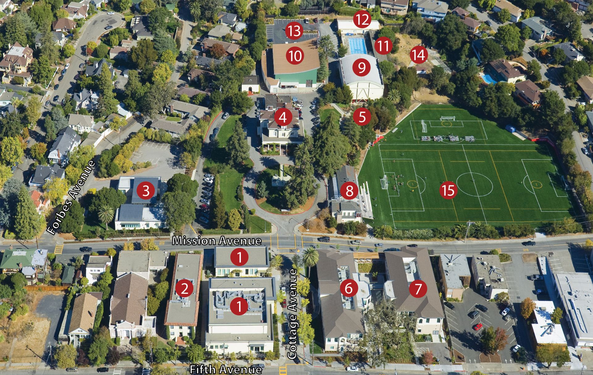 Campus Map Directions Parking
