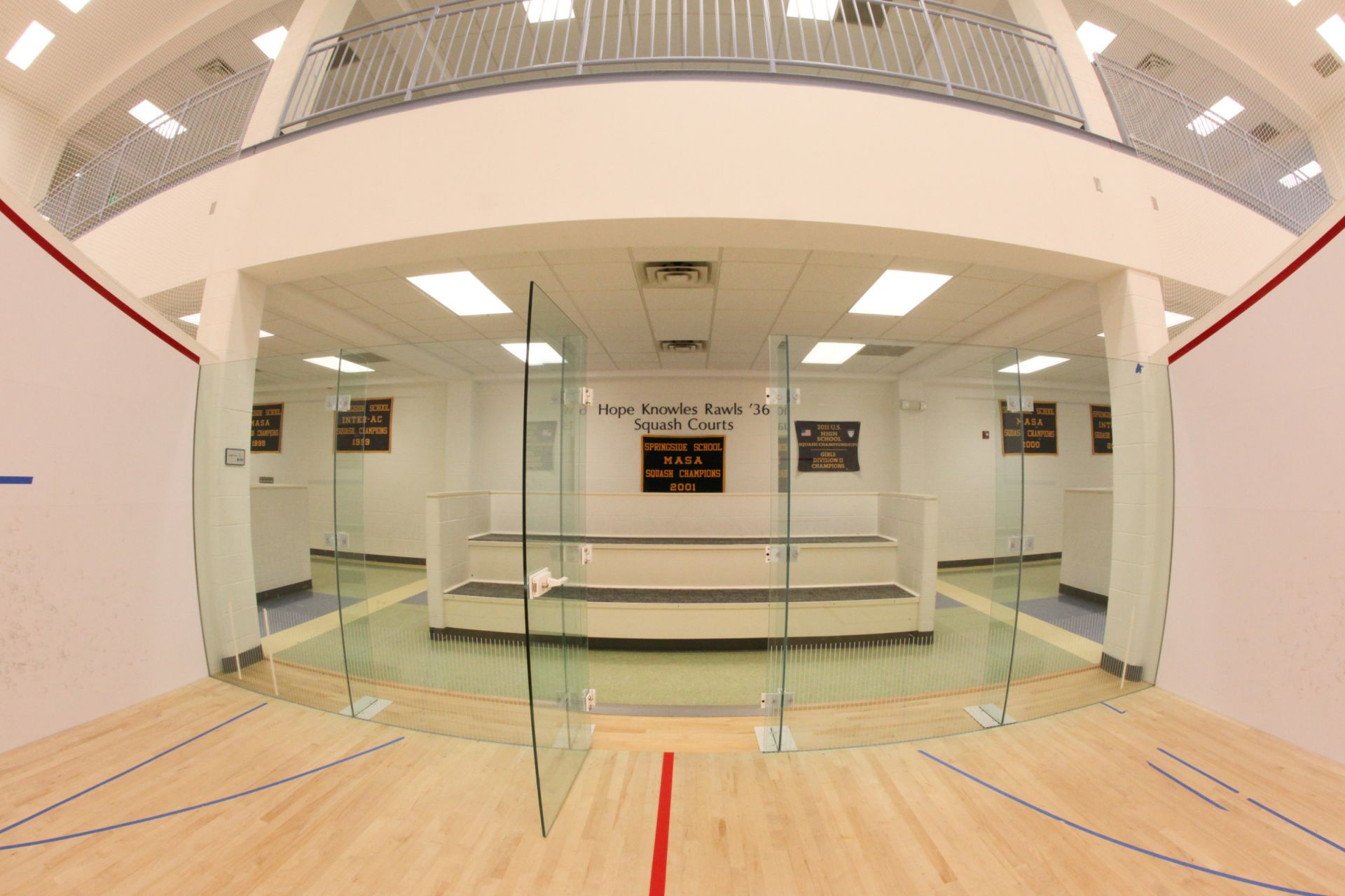 Squash Courts (Vare Field House)