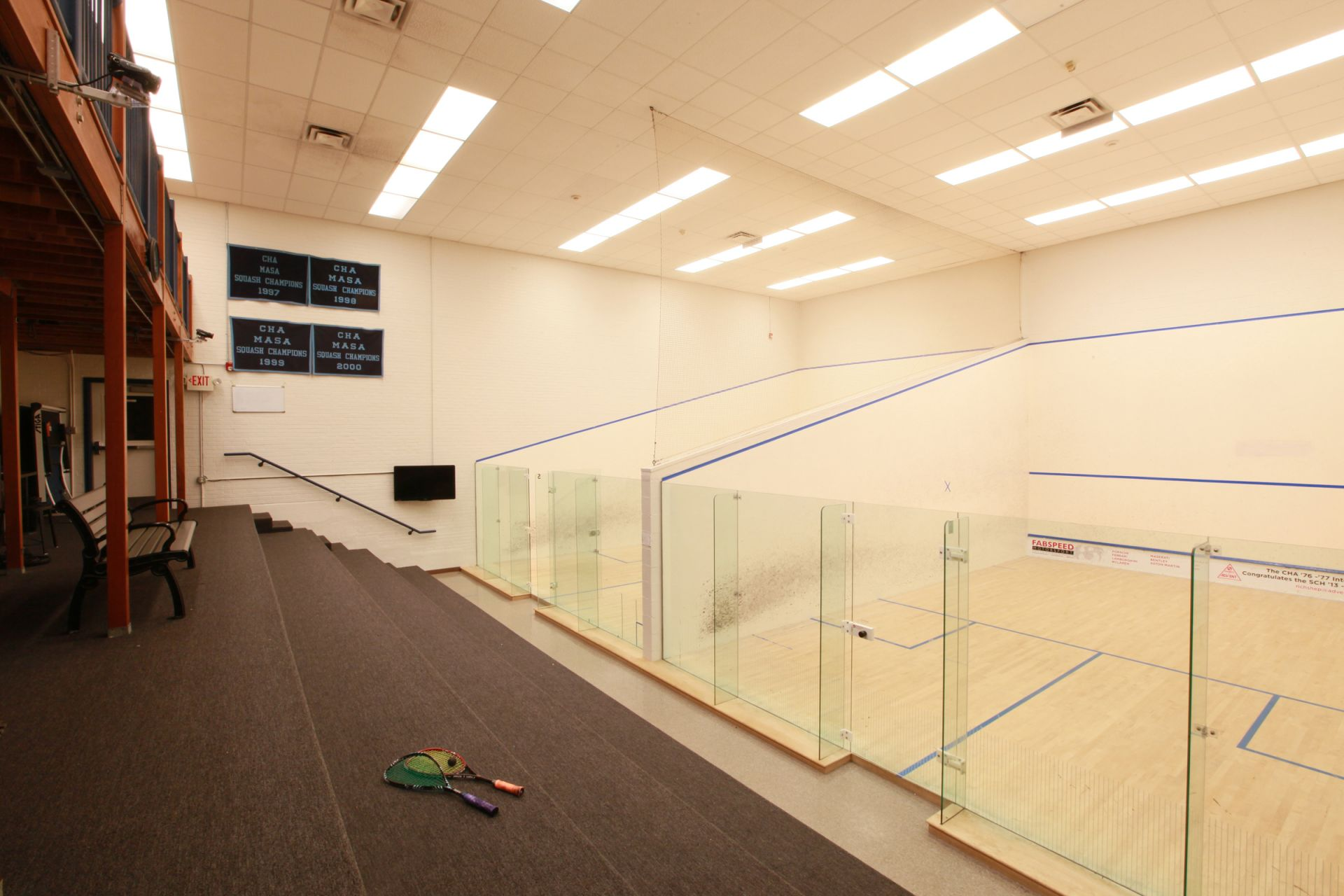 Squash Courts, Willow Grove Campus