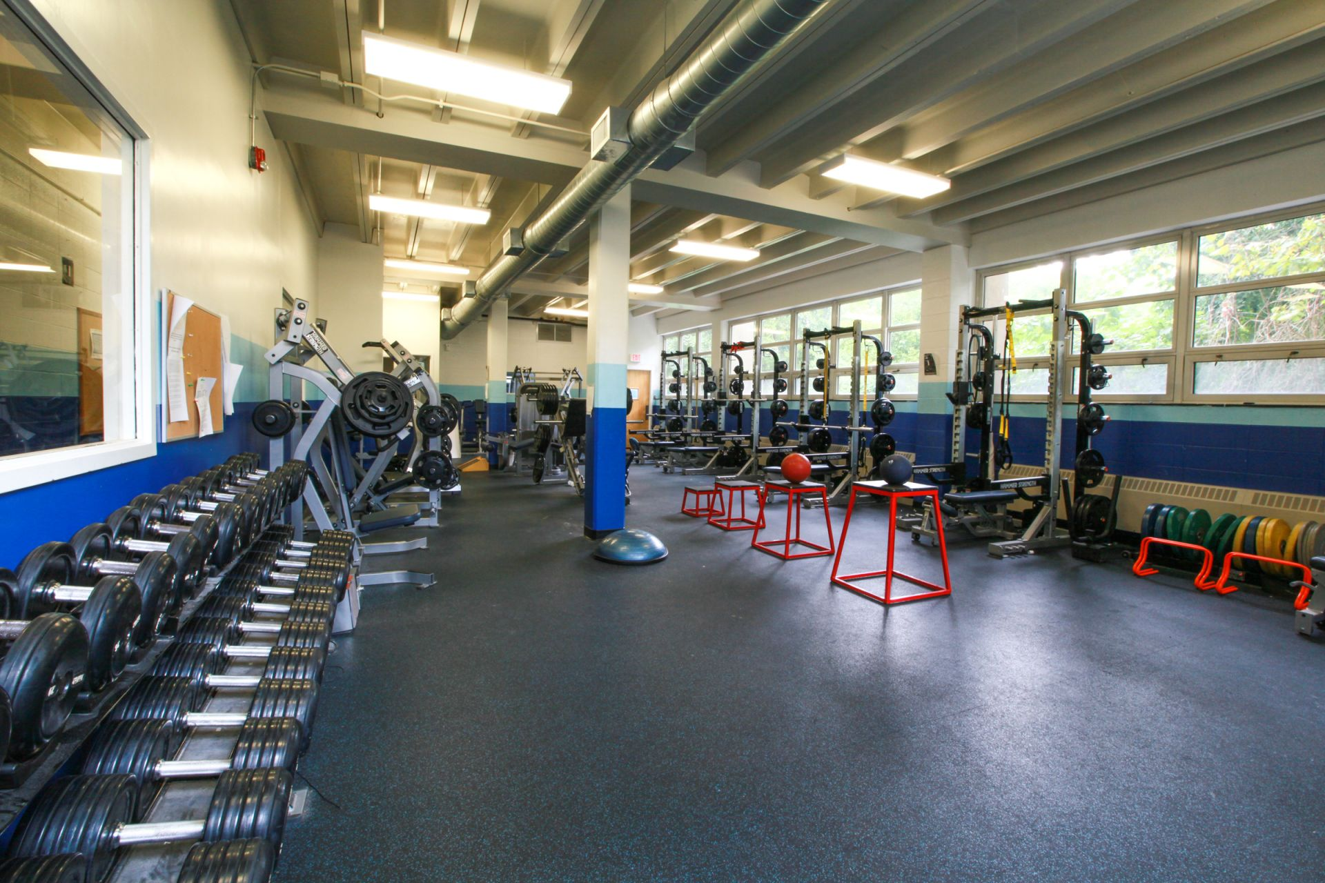 Weight Room, Willow Grove Campus