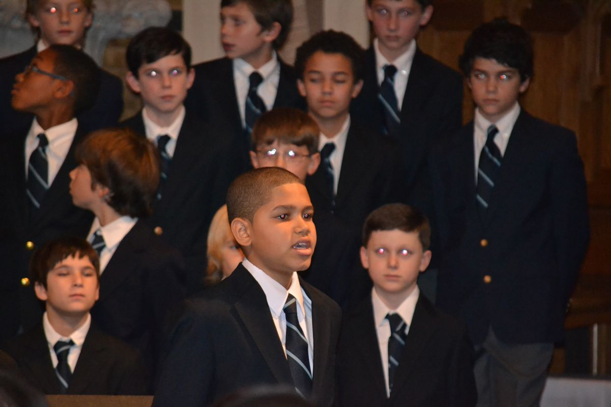 Boychoir at Winter Concert