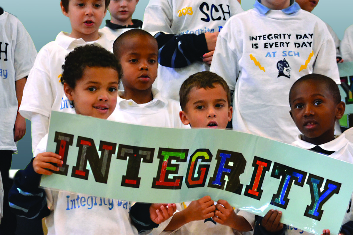 Celebrating Integrity Day.