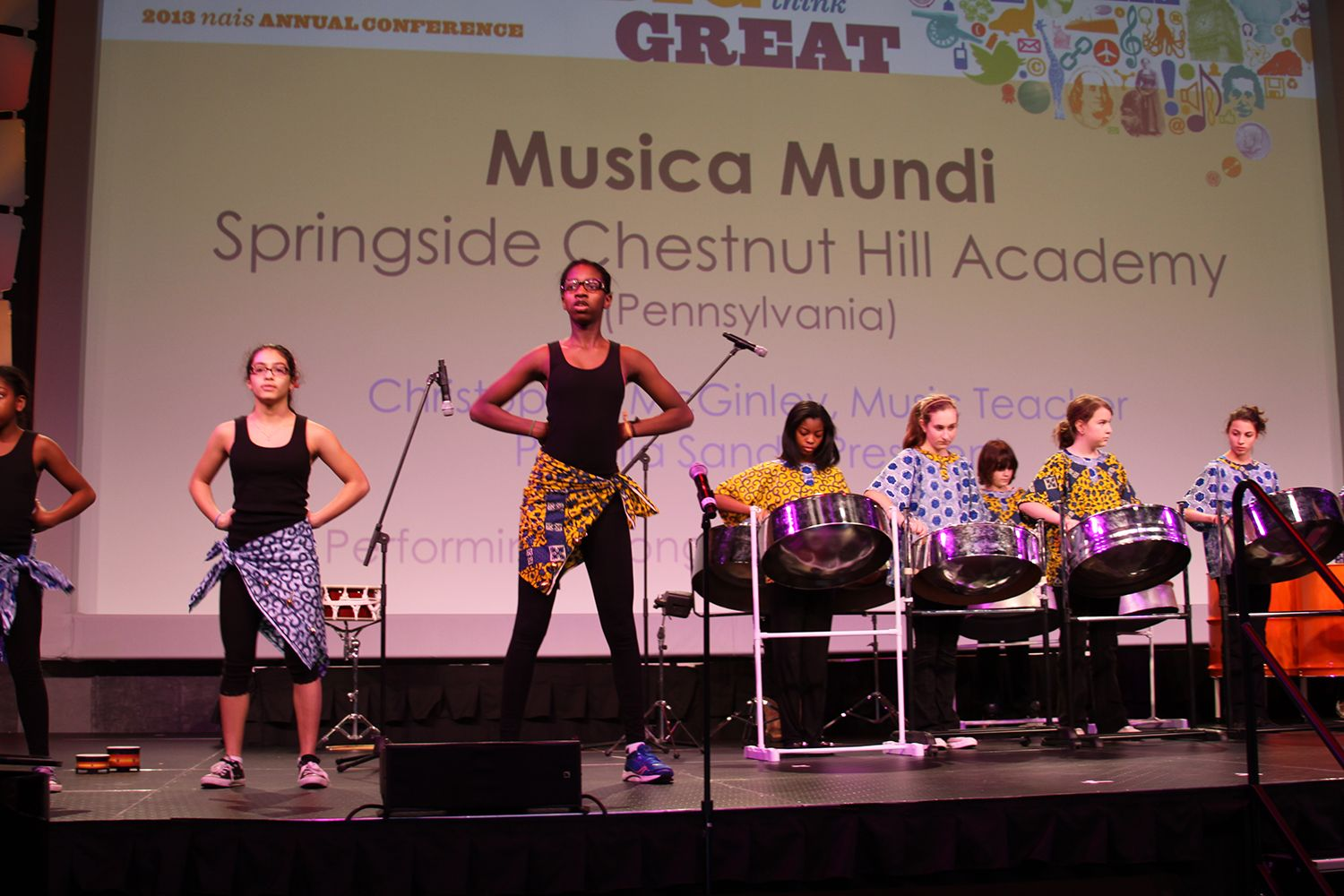 Musica Mundi performs at NAIS.