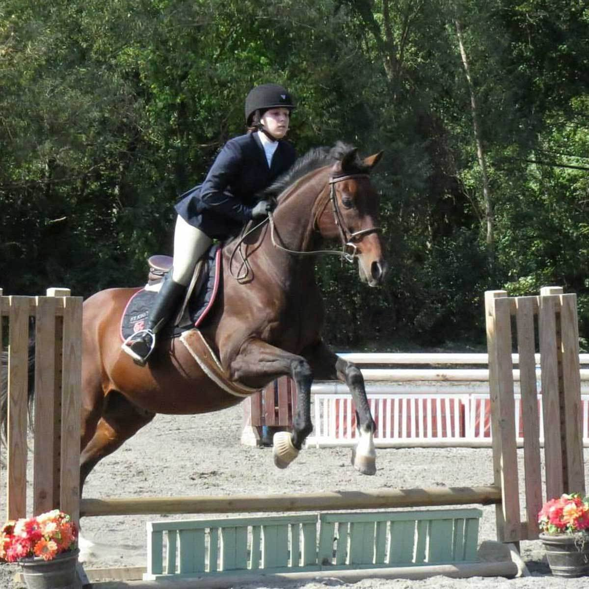 Equestrian Club is for students who have an appreciation of, and love for, horses. They also field a competitive JV team.