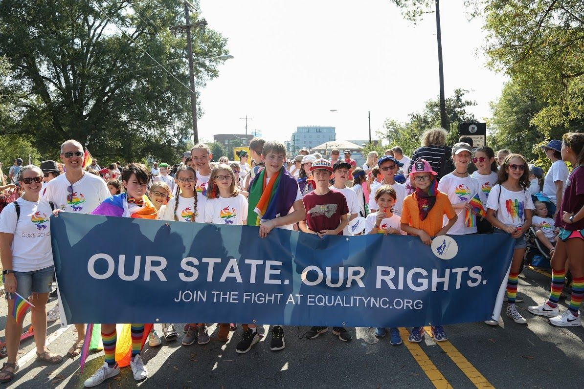Duke School Group: NC Pride Parade 2019