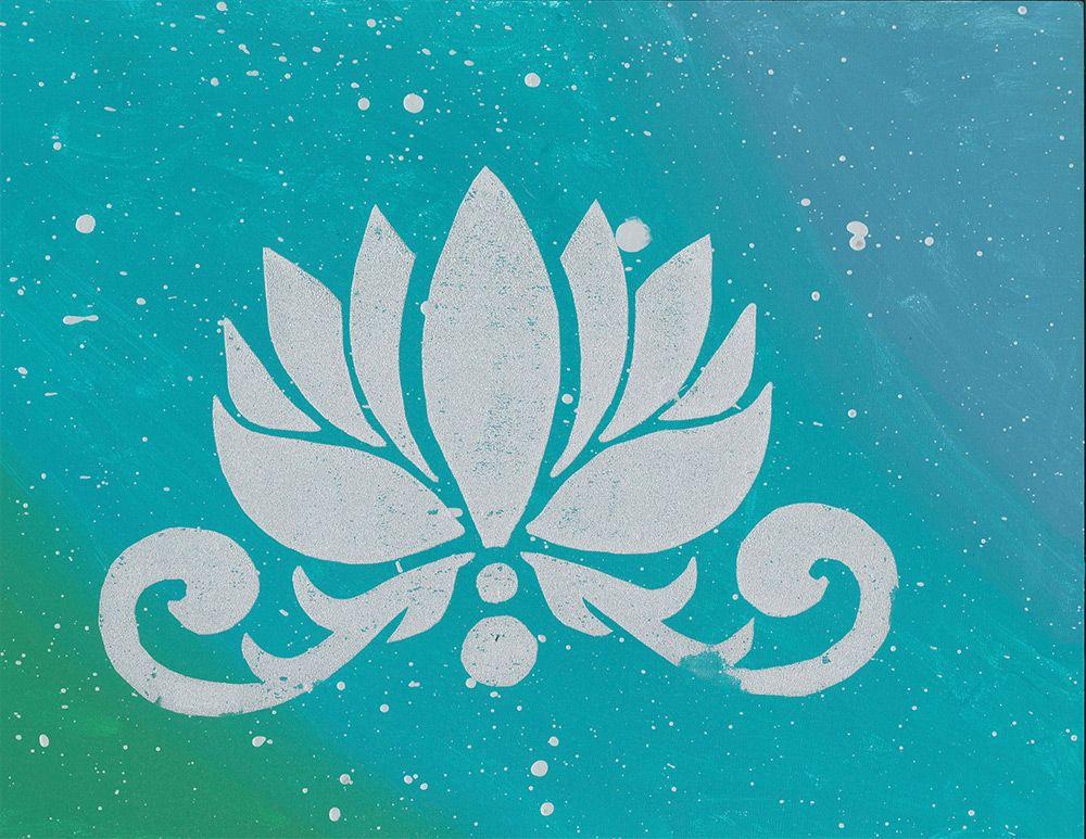 The Lotus represents finding peace within yourself and expressing who you are, what you love, and what you aspire to be.