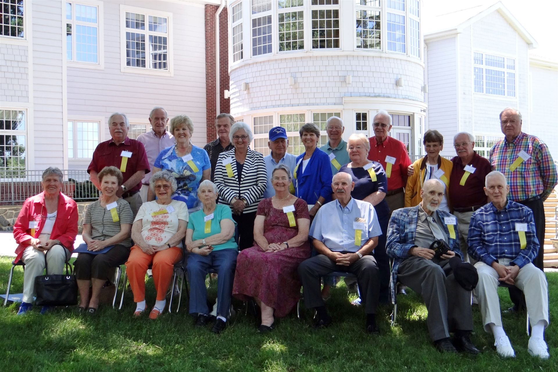 Members of the 30s, 40s and 50s joined together on campus to reminisce and reconnect at our first June reunion.