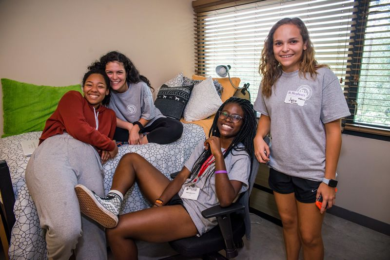 Boarding School Students in a Dorm at St. Stephen's