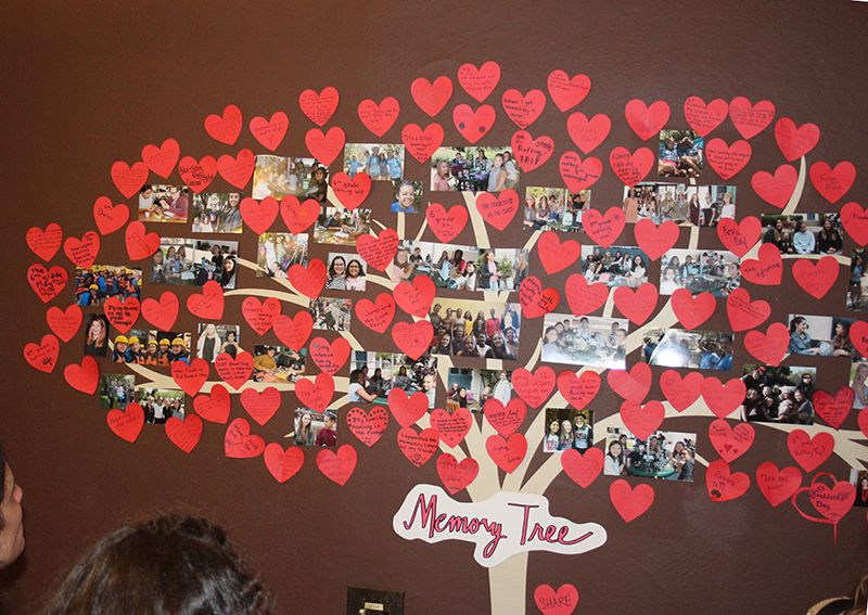 Community members shared their favorite JMSG moment for the Memory Tree.