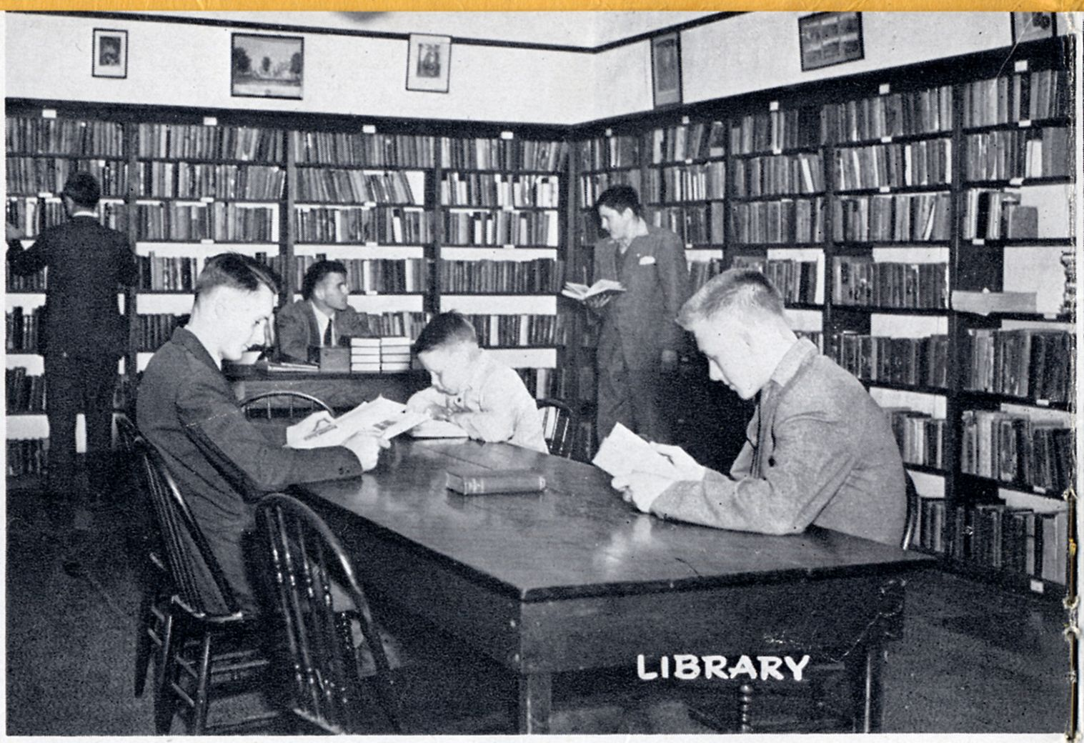 The library in 1948