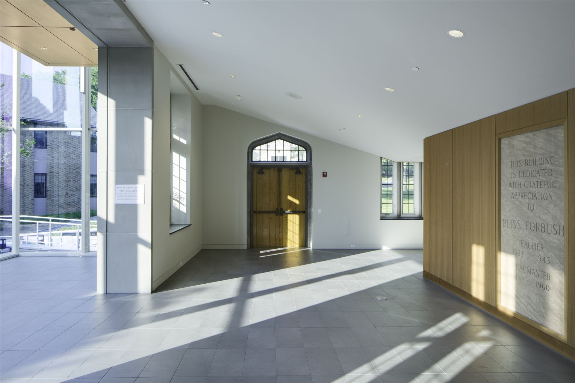 Forbush Building Lobby