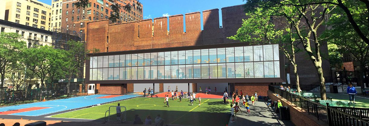 Supports the exciting capital project which adds natural lighting and expanded multi-use space for each school.