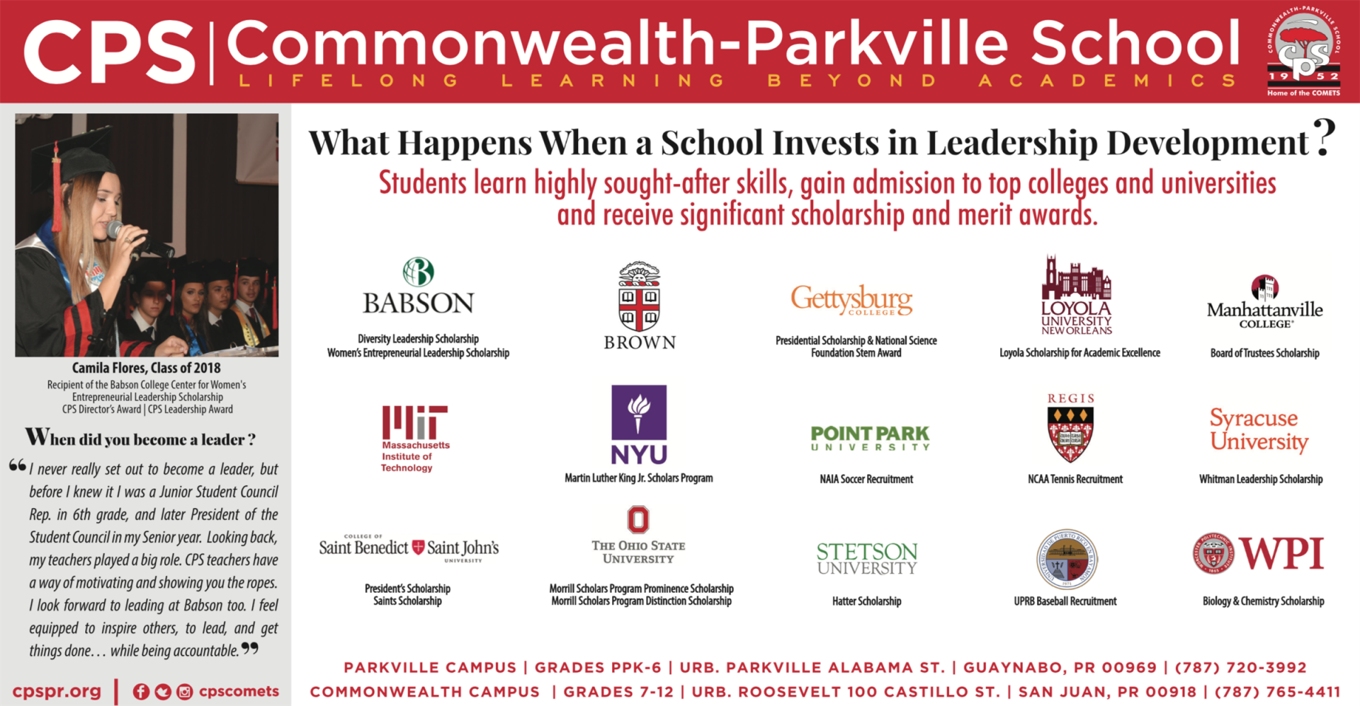 Commonwealth-Parkville School | College & Guidance Counseling
