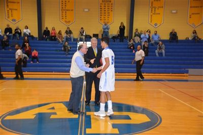 Ryan Jolly 1,000th Point Recognition