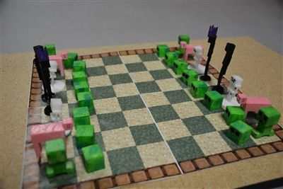 Middle Schoolers Create 3D Printer Chess Pieces