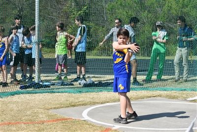 Middle School Track and Field Meet