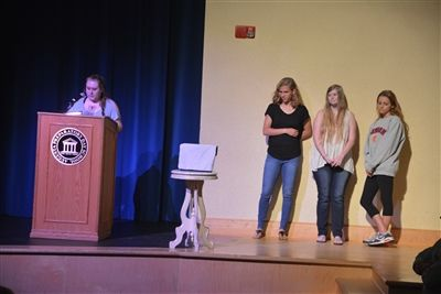 Yearbook Dedication and Distribution
