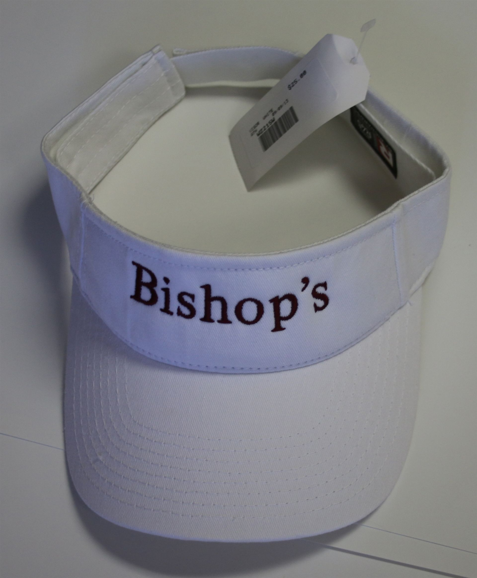 Bishop's Visor - White