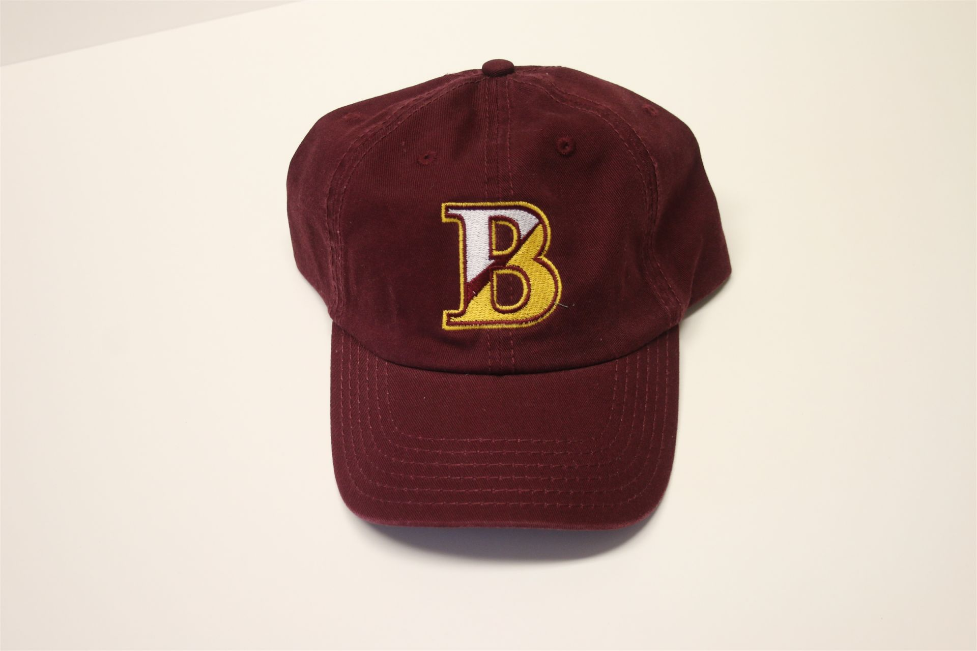Bishop's Hat Washed Cotton - Maroon