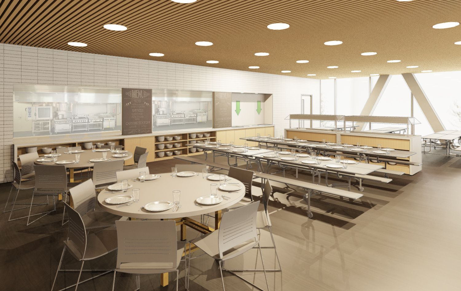 Common Room-Cafeteria