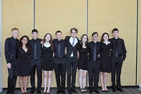 The JCHS Vocal Ensemble